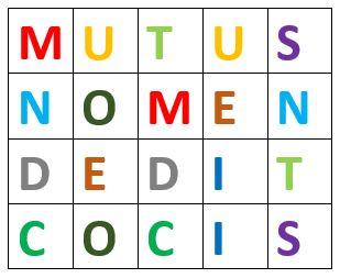 mutus négyzetrács