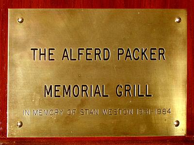 Alpred Packer Memorial Grill