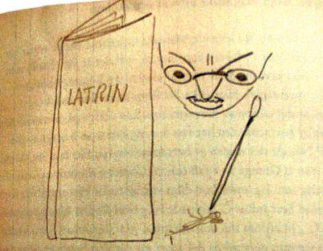 latin - latrina